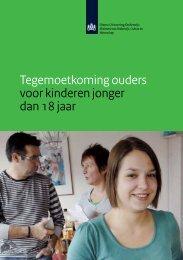 Tegemoetkoming ouders 2012-2013 - DUO