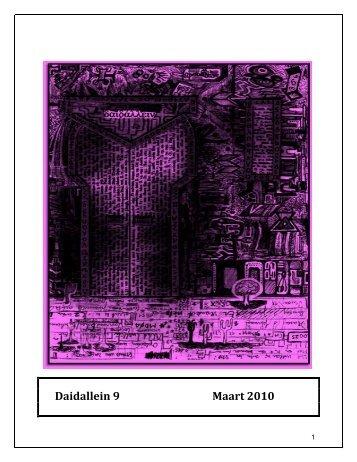 Daidallein 9 Maart 2010