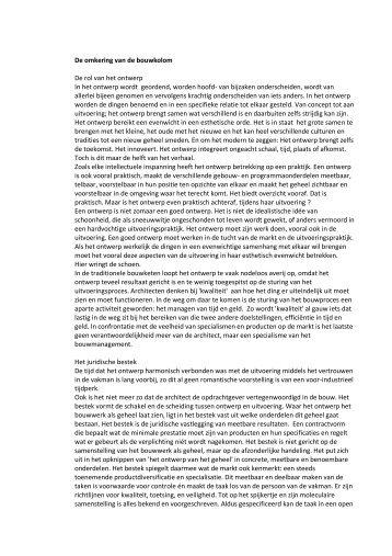 Omkering van de bouwkolom Miel Karthaus - Bouwstenen voor ...