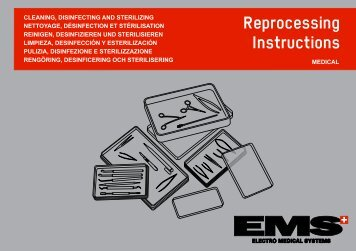 Reprocessing Instructions - EMS - Electro Medical Systems