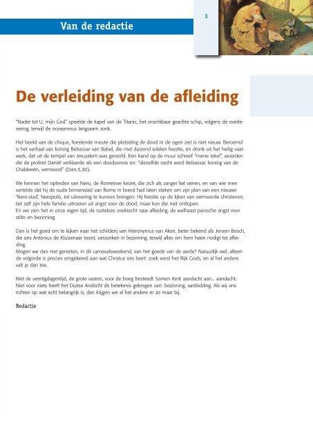 De verleiding van de afleiding - Bisdom Haarlem