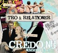 Nummer 1 - 2012 - Credo