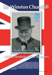 Sir Winston Churchill - Nordisk Filateli