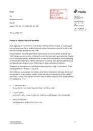 Notat Movia, Tidsplan linje 154E (Notat Movia, Tidsplan linje 154E.pdf)