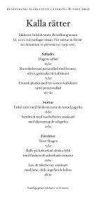 Catering - Kvartersmenyn.com - Page 5