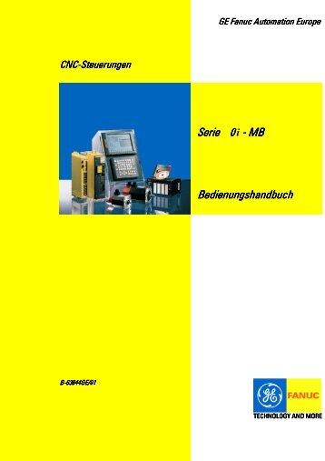 B-63844GE/01 Serie 0i-MB Bedienungshandbuch