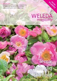 Tema: Naturlig skönhet - Weleda