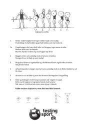 træningsprogression af øvelserne Råtræk & Frivend
