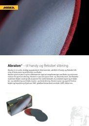 Abralon produktblad SE DK.indd - KWH Mirka Ltd