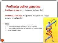 Cursul 19-Profilaxia bolilor genetice