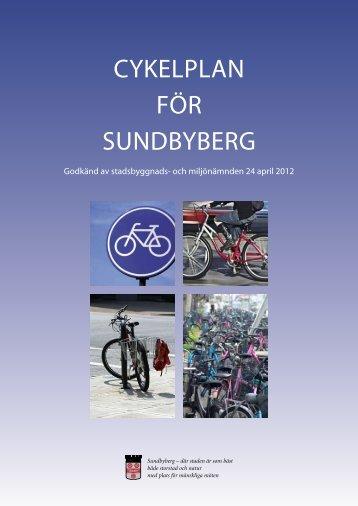 Cykelplan för Sundbyberg