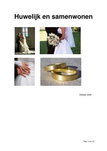Rapport Huwelijk en Samenwonen - Pauluskerk Gouda