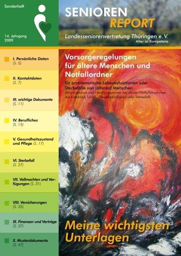 Vorsorgeregelungen für ältere Menschen und Notfallordner als PDF ...