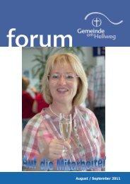August / September 2011 - FeG Dortmund