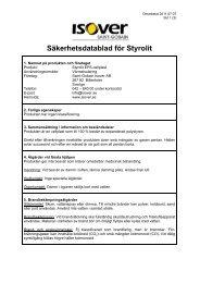 Styrolit EPS-cellplast - Isover