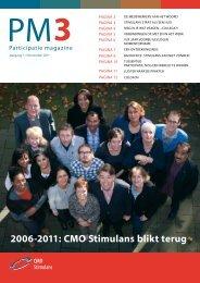 2006-2011: CMO Stimulans blikt terug - JSO