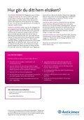 Tips och råd för att göra ditt hem elsäkert. - Anticimex - Page 2