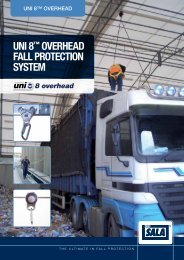 Uni 8™ Overhead System - Patersonsafetyanchors.co.uk