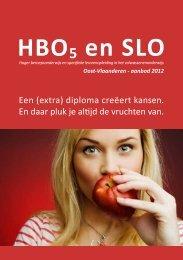 HBO5 en SLO in Oost-Vlaanderen - aanbod 2012: Een ... - De Stap