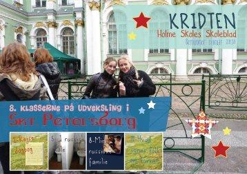 Kridten februar 2010 - Holme Skole