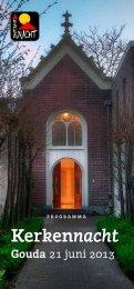 programmaboekje - Raad van Kerken - Gouda en omstreken