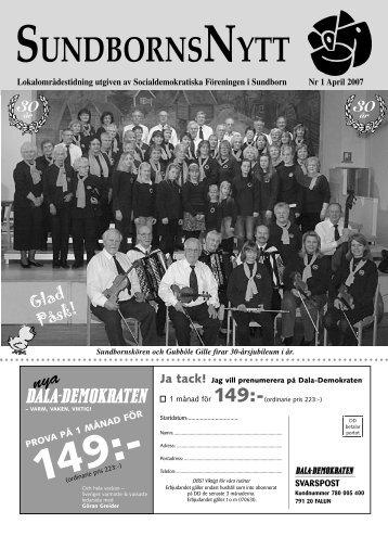 S-Nytt nr 1 april 2007.indd - S-info