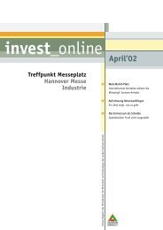 invest online April'02 - Martin-Luther-Universität Halle-Wittenberg