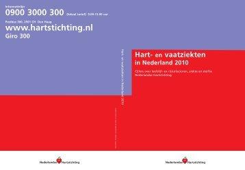 Hart- en vaatziekten in Nederland 2010 - Nederlandse Hartstichting
