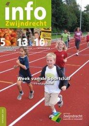 Week van de Sportclub - Gemeente Zwijndrecht