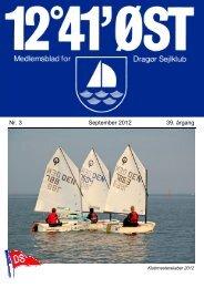 Nr. 3 September 2012 39. årgang - Dragør Sejlklub