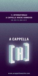 Programmflyer als pdf zum Download - 13. Internationale A-cappella ...