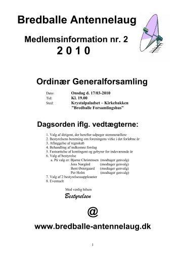 Medlemsinfo 2010-info-2.pdf - Bredballe Antennelaug