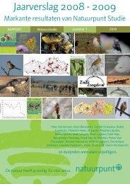 Grauwe Gors Vlaams-Brabant jaarverslag studie 2008 ... - Natuurpunt