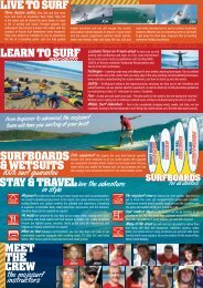 MEET THE CREW SURFBOARDS & WETSUITS ... - Travel Forever
