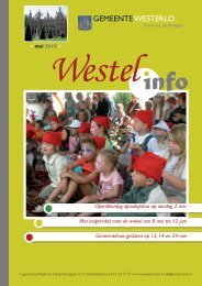 mei 2010 - Gemeente Westerlo