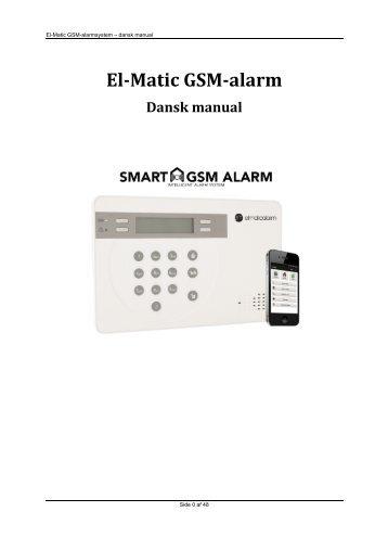 El-Matic GSM-manual VERSION 2