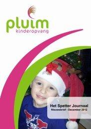 Nieuwsbrief december 2012 - Pluim Kinderopvang