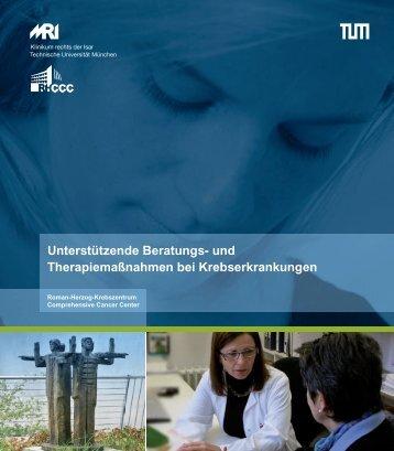 """""""Begleitende Therapien bei Krebserkrankungen"""". - Roman-Herzog ..."""