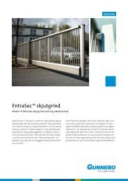 EntraSec™ skjutgrind - Perimeter Protection Group