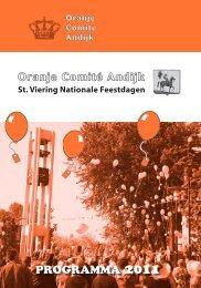 Programmaboekje 2011 (pdf formaat) - Stichting Viering Nationale ...