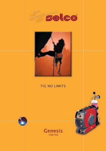 TIG NO LIMITS - Eiva-Safex