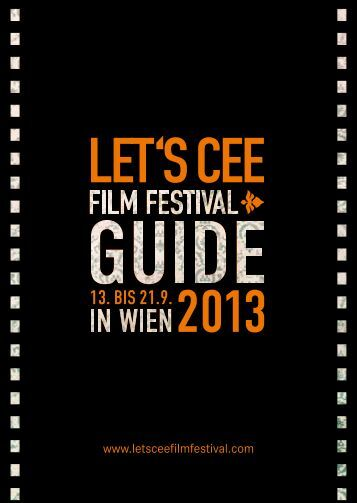 Programmheft LET'S CEE Film Festival 2013