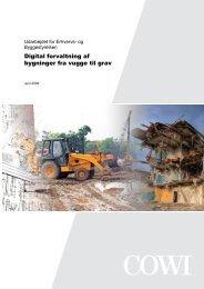 Digital forvaltning af bygninger fra vugge til grav - Erhvervsstyrelsen