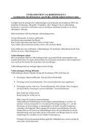 inför årsstämman 2010 - Guideline