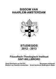 Studiegids 2012-2013 - De Tiltenberg