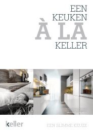 Download de Keller brochure - Keller Keukens