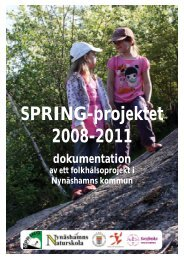 Dokumentation SPRING 20 sep 2012.indd - Nynäshamns kommun
