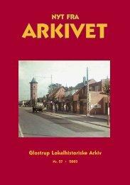 Nyt fra Arkivet nr.27 - Glostrup Bibliotek