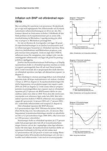 Oforandrad inflation