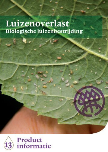 Productblad Luizenoverlast - Nationale Bomenbank